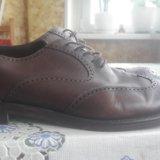 Мужские туфли натуральная кожа. Фото 2.