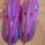 Коньки для девочек раздвежные 33-36. Фото 4.