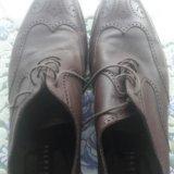 Мужские туфли натуральная кожа. Фото 1.