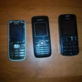 Старенькие телефоны на запчасти. Фото 1. Москва.