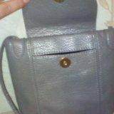 Новая серая сумочка (17*19). Фото 3.