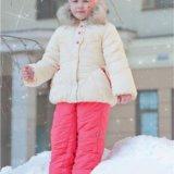 Комплект зимний (куртка+полукомбинезон ) р.110. Фото 1.