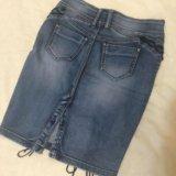 Юбка джинсовая новая. Фото 2.