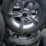 Зимние шины и диски!. Фото 1.