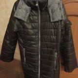Куртка для беременных и молодых мам слингокуртка. Фото 4.