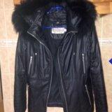 Зимняя куртка-пихора ,на кроличьем меху,40-42р. Фото 1.