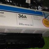Картридж св 436а для лазерного принтера оригинал. Фото 1.