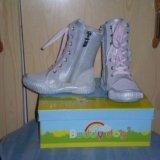 Сапожки для девочки р29, новые. Фото 1.