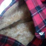 Теплая рубашка 42р. Фото 3.