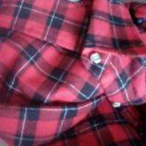 Теплая рубашка 42р. Фото 4.