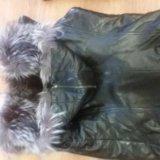 Продам кожаную куртку с отделкой из чернобурки!. Фото 2. Балаково.