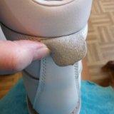 Новая обувь.кожа и овчина.удерживает тепло. Фото 4.