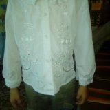 Блуза школьная. Фото 4.
