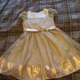 Платье детское праздничное на девочку р.116. Фото 1.