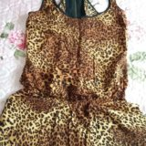 Комбинезончик леопардовый. Фото 1.