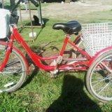 Велосипед взрослый трехколесный. Фото 1.