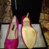 Ярко-розовые новые туфли. Фото 2. Санкт-Петербург.