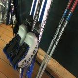 Комплект беговых лыж. Фото 2.