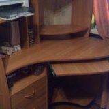 Компьютерный стол угловой. Фото 1.