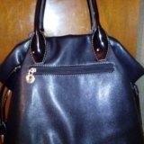 Кожаная сумка. Фото 1. Фрязино.