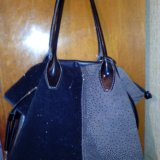 Кожаная сумка. Фото 2. Фрязино.