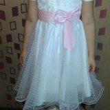 Платье для девочки р.116. Фото 4.