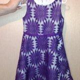 Платье для девочки р.110. Фото 1.