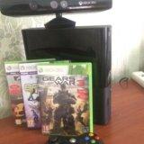 Xbox 360 slim 500 gb +3 игры и kinect. Фото 3. Феодосия.