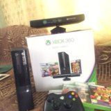 Xbox 360 slim 500 gb +3 игры и kinect. Фото 1.