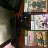 Xbox 360 slim 500 gb +3 игры и kinect. Фото 2. Феодосия.