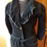 Пиджак вельветовый seppala р40-42. Фото 1.