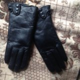 Кожаные перчатки. Фото 1.