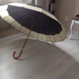 Зонтик трость премиум класс. Фото 1.