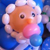 Оформление для деток шариками. Фото 1.