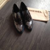 Diesel ботинки лоферы оригинал. Фото 1. Москва.