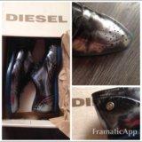 Diesel ботинки лоферы оригинал. Фото 2. Москва.
