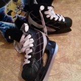 Коньки хоккейные 34разм. Фото 2.