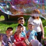 Сказочные аниматоры на детском празднике. Фото 1.