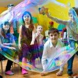 Сказочные аниматоры на детском празднике. Фото 2.