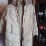 Пуховое пальто. Фото 3.