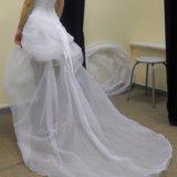Короткое свадебное платье. Фото 3. Пермь.
