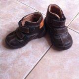 Кожаные ботиночки. Фото 1. Кропоткин.