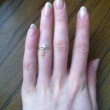 Золотое кольцо с фианитами. Фото 2. Москва.
