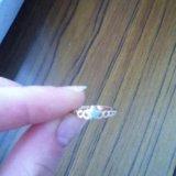 Золотое кольцо с фианитами. Фото 1. Москва.