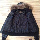 Куртка натуральная кожа , модная, молодежная. Фото 4.