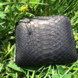 Кошелёк из кожи питона. Фото 2.