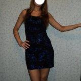 Вечернее платье р-р 42-44. Фото 1.
