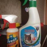 Поглотитель запаха для кошек. Фото 1.