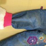 Теплые джинсы. Фото 2.