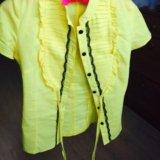 Желтая блуза. Фото 1.